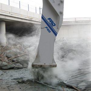 F100 Qt breaking concrete | Furukawa FRD