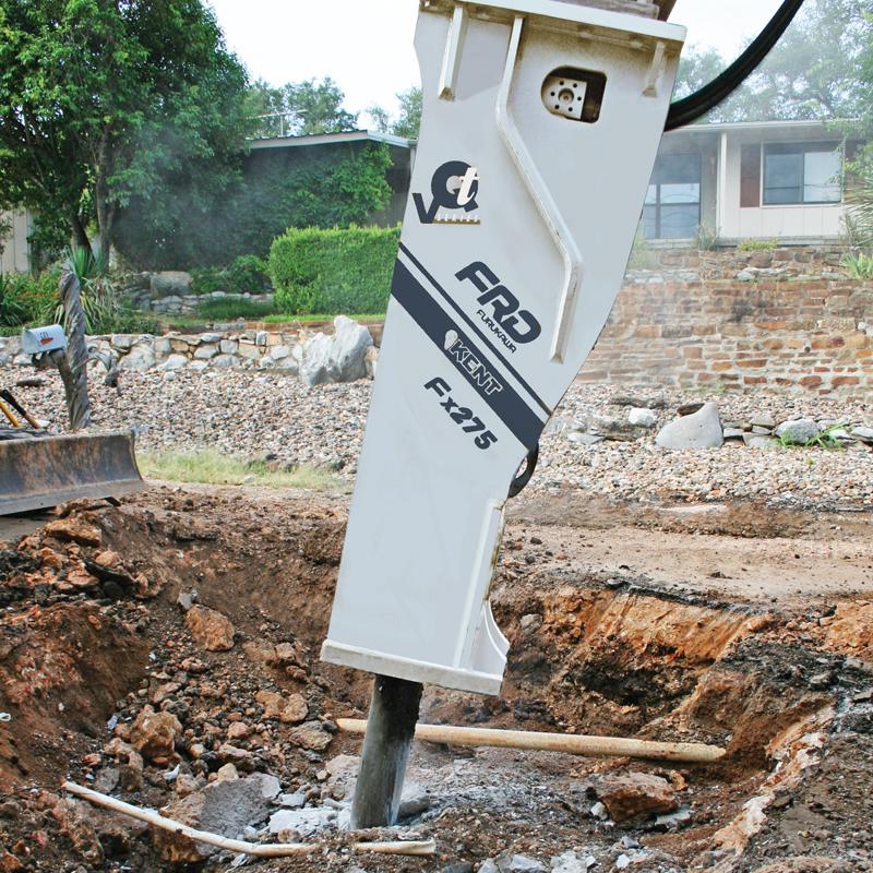 Fx275 Qtv at a demolition site | Furukawa FRD