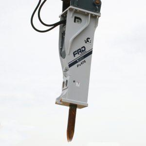 Fx475 Qtv on end of crane | Furukawa FRD