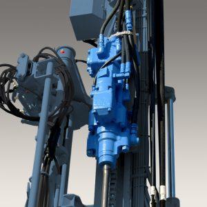 Image of HD700 drifter attached to machine | Furukawa FRD