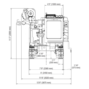HCR1800-D20II_End_View